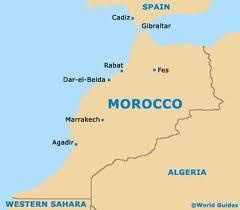 Here's a map of Morroco showing the location of the Port of Agadir, for those people who, like me, had no idea where Agadir was!    In an historical context, note its its proximity in 1911 to the strategically vital British Naval base of Gibraltar, and French controlled Algeria, which partly explains the concerns of France and Britain during the 1911 Agadir crisis. https://www.facebook.com/media/set/?set=a.253228124712698.52397.249927968376047&type=3