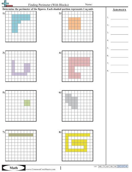 26 best Perimetrs,Laukums images on Pinterest | Math activities ...