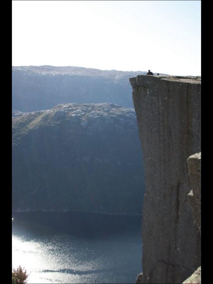 Prekestolen.  Norway