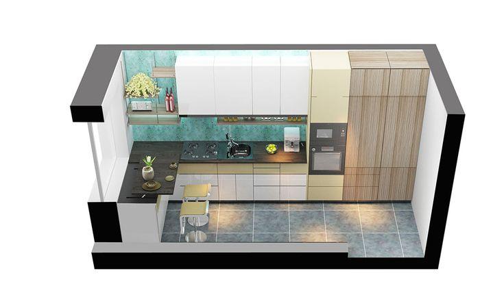Jak dostat vše potřebné do příliš malé kuchyně? Tento problém je dobře známý mnoha českým domácnostem. Co doporučili udělat s kuchyní jako nudle mladí architekti? Podívejte se!
