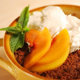 Easy Nectarine Crisp, a recipe from ATCO Blue Flame Kitchen.