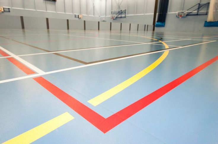A range of F Ball products, including Stopgap 300 HD , were used at the Christ Church Sports Centre in Canterbury.