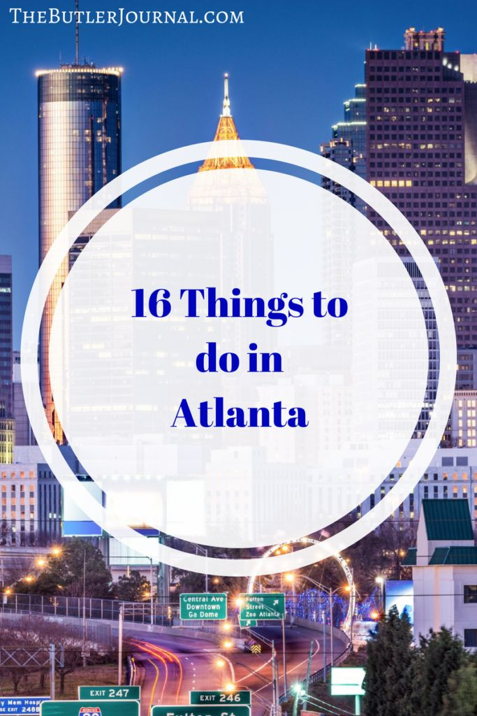 Atlanta, Georgia is one of the largest cities in the country. It is the biggest city in the southeast. There are a lot of things to do in Atlanta.