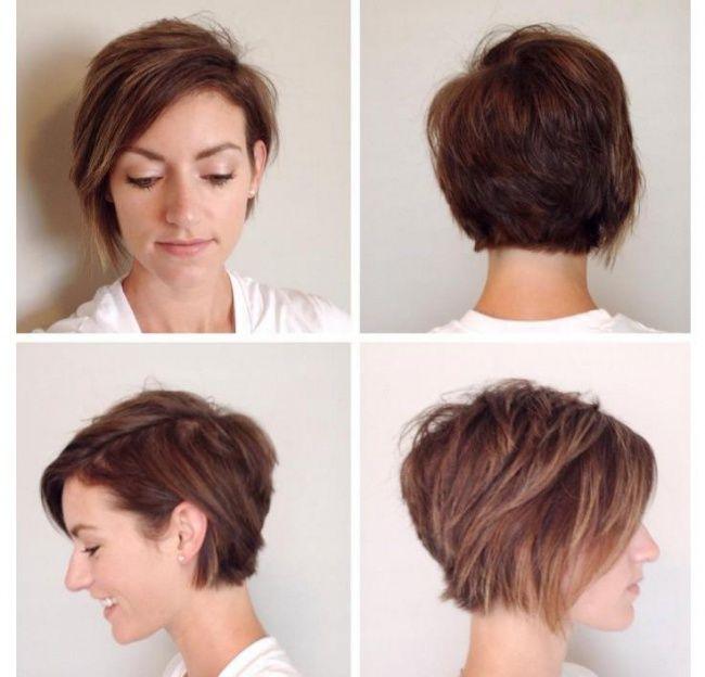 Krótkie fryzury 2016 - modne pixie cut, asymetryczne, z grzywką - Strona 24