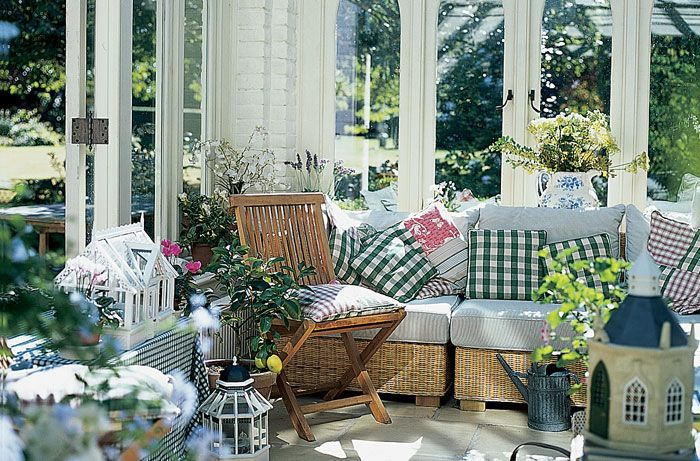 The Country Look Conservatory Furniture.