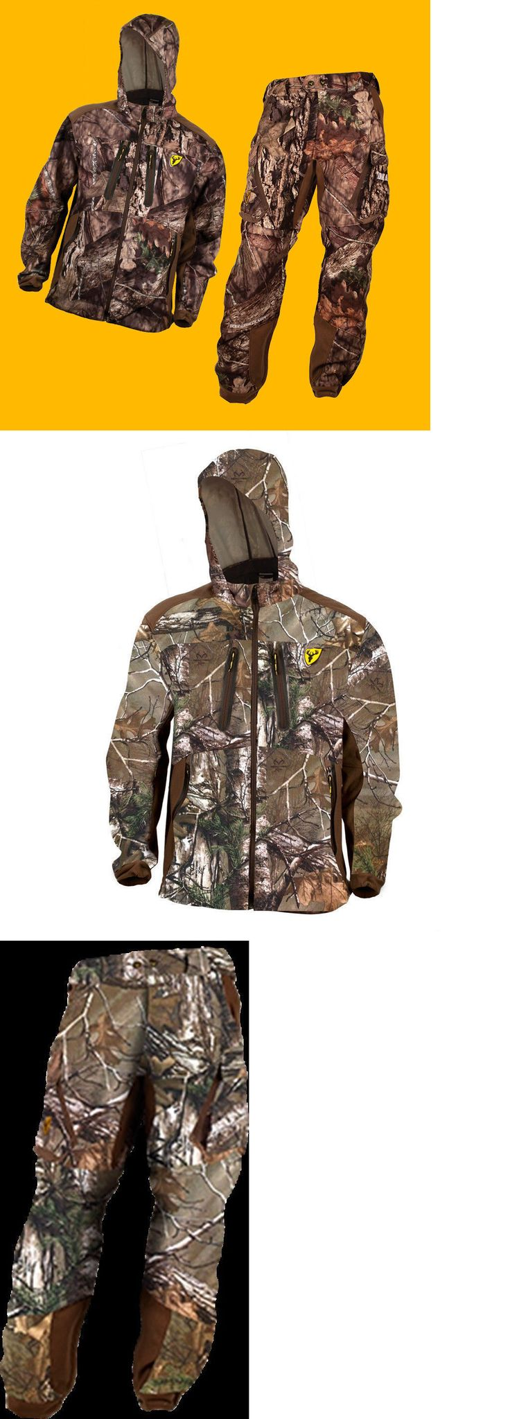 Jacket and Pant Sets 177872: Scentblocker Dead Quiet Jacket And Pants Suit Realtree Xtra Camo - Mens Large -> BUY IT NOW ONLY: $159.95 on eBay!