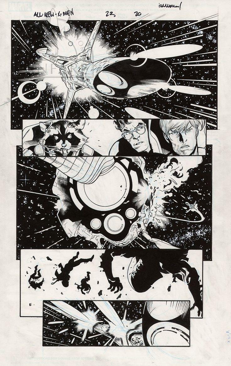 Fanfare :: For Sale Artwork :: All-New X-Men by artist Stuart Immonen