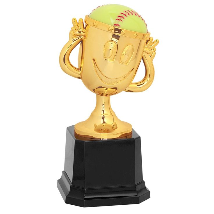 Happy Cup Softball Trophy