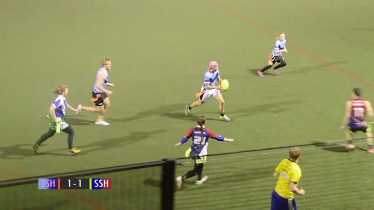 Tag Rugby Mixed Super League Semi-final 2 (Spring 2014) - Tagquila Shots...
