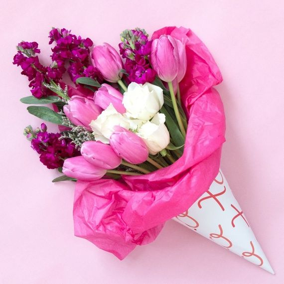 Bouquet Of Flowers: The Best Way To Wrap A Bouquet Of Blooms