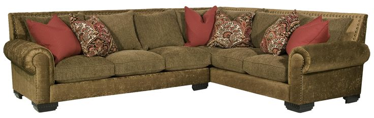Jackson Ii Traditional Styled Sectional Sofa By Robert