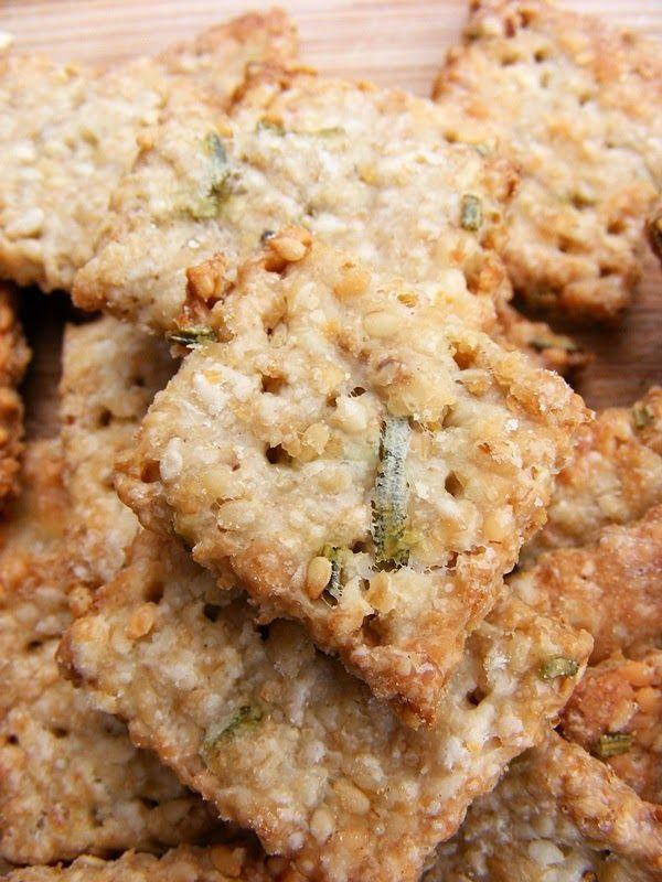 szeretetrehangoltan: Rozmaringos zabpelyhes keksz (sós kréker)