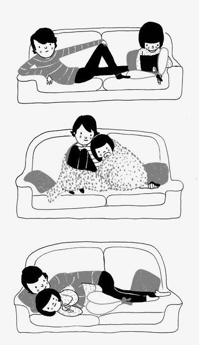 Best A Real Life Comic By Philippa Rice Images On Pinterest - Cute illustrations demonstrate what true love really is