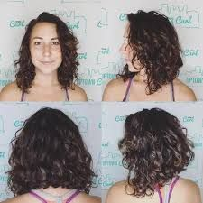 Image result for medium curly hair lob