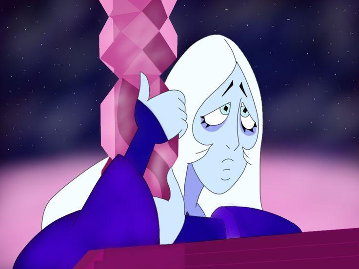 My drawing of blue diamond