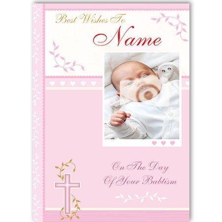 Christening Girl - CardsComplete