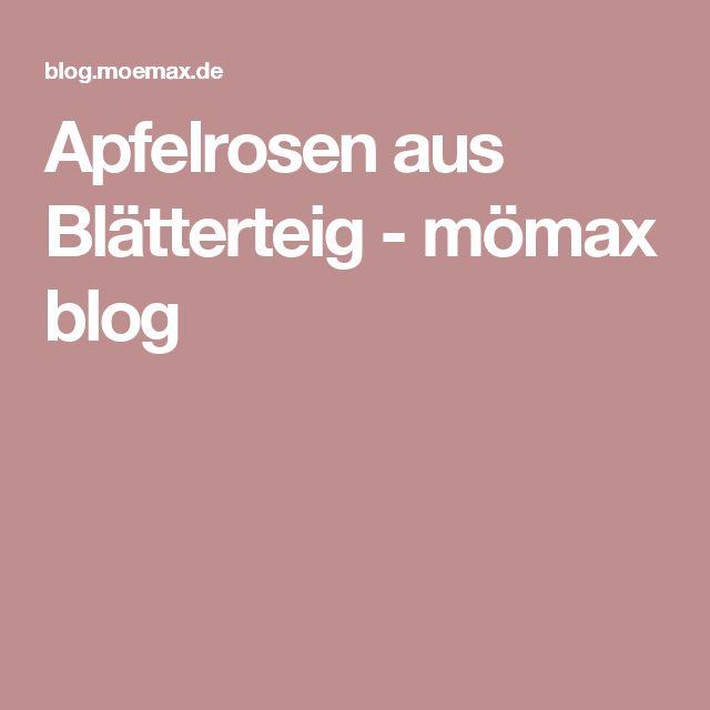 Apfelrosen aus Blätterteig - mömax blog
