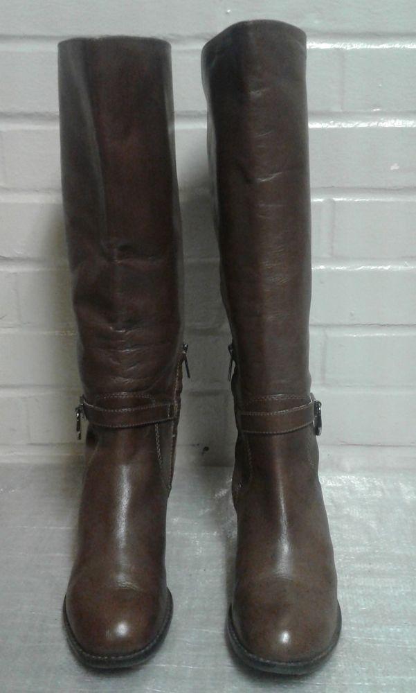 b04c56531d8e Women s Michael Kors Brown Size 5.5M Knee High Boots