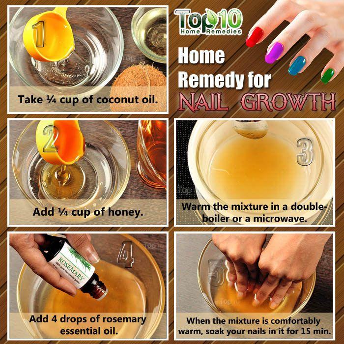Home Remedies for Nail Growth | Nails | Nail growth faster, Nail ...