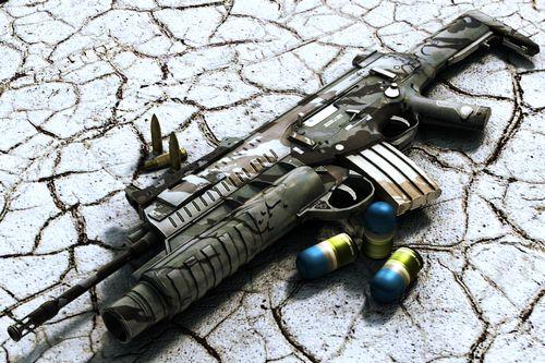 """Nell'ambito del progetto Soldato Futuro l'Esercito Italiano, in collaborazione con aziende specializzate, ha sviluppato una nuova arma concepita come parte integrante del complesso programma; stiamo parlando del fucile d'assalto Beretta ARX-160 calibro NATO 5,56 × 45 mm che  contribuisce all'incremento della """"letalità"""" del soldato in abbinamento ad altri sottosistemi."""