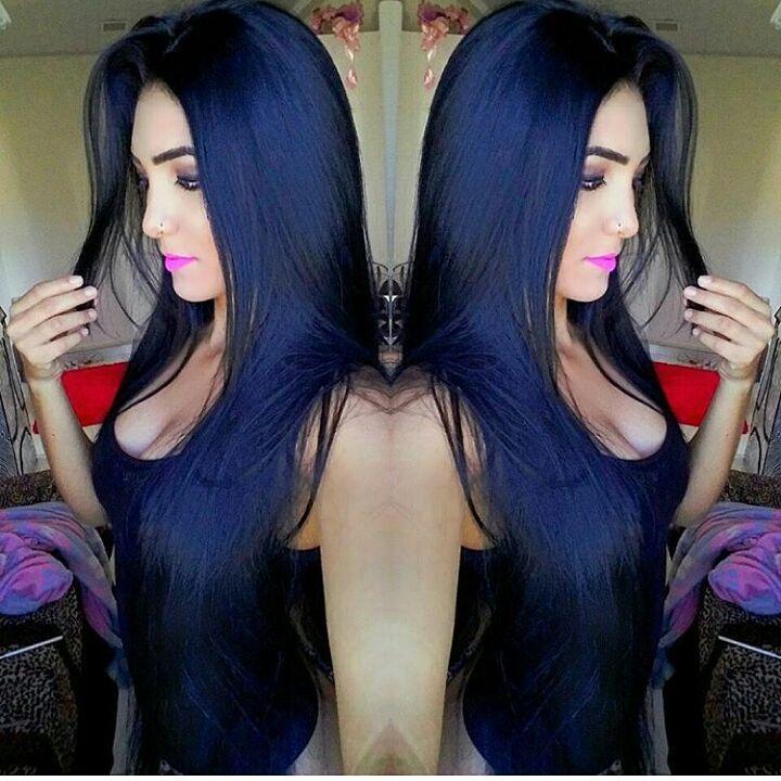 Muito amor por esse preto azulado