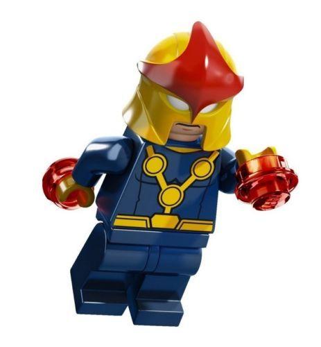Lego Marvel Nova Minifig New from Lego Set 76005   eBay<<< I had no idea they had something like this!