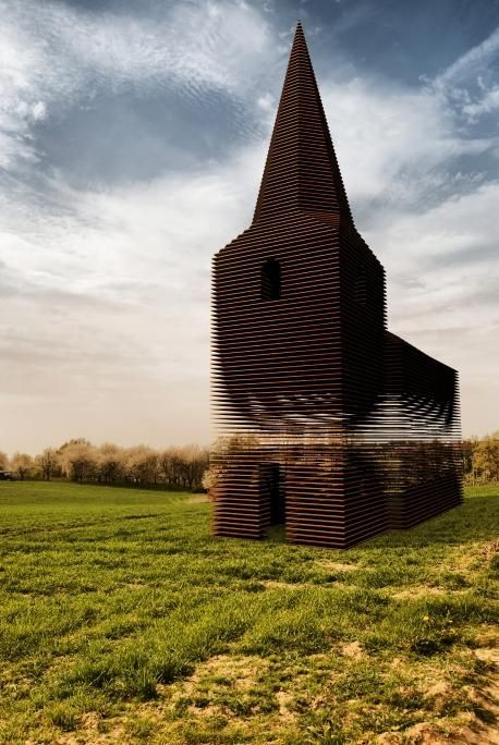 This Might Look Like A Regular Church From Above, But At Another Angle? Stunningly Unexpected!