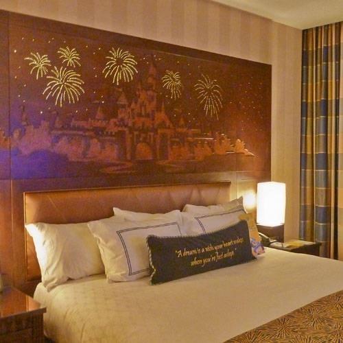 Disneyland Hotel Room!