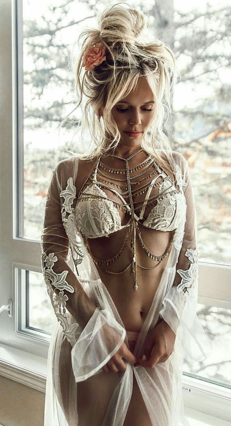 Collection of Bralette chain to create that unique over the top look.