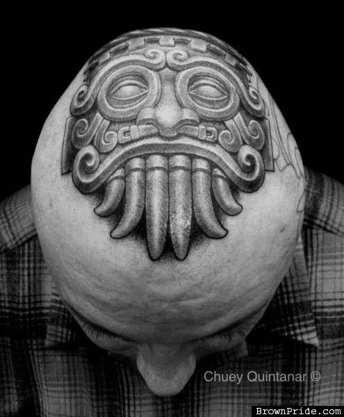 Tlaloc TATTOO by CHUY Q. | Art & Tattoos | Tattoos, Hand ...