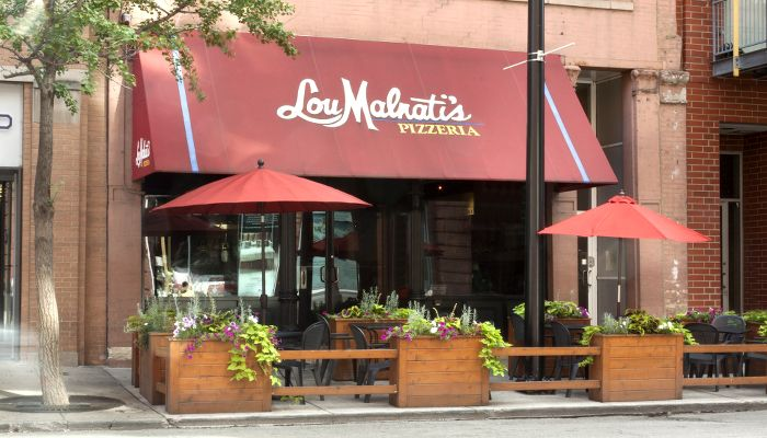 Lou Malnati's Chicago - River North - 439 North Wells Street, Chicago, IL 60610 -  Head to Lou Malnati's Pizzeria, the arguable birthplace of deep dish, to enjoy the Chicago classic stuffed with sausage on a butter crust. As seen on Pizza Masters on The Cooking Channel.