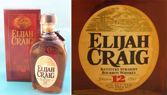 #9 on our Top 10 Most Popular Bourbon Brand is Elijah Craig Whiskey