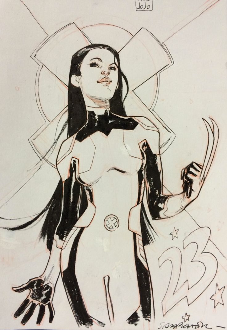 X-23 by Sara Pichelli *
