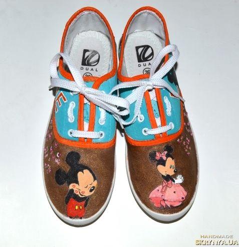 Кеды + сумка Микки Маус mickey mouse