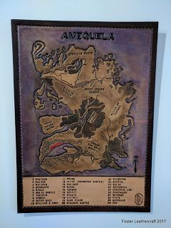 Foster Leathercraft: Map, Amequela