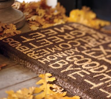 Diy This Back Porch Mat Welcome Door Mats Porch Mat