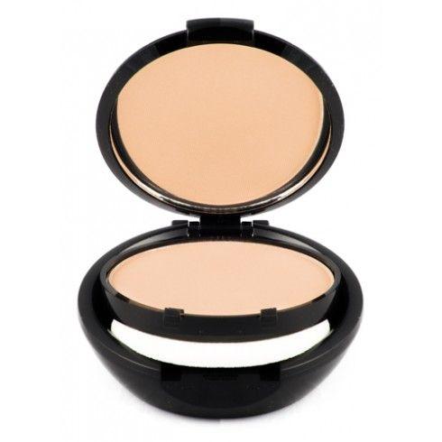 CREAM FOUNDATION. Acabado en crema, maquillaje compacto cobertura total, se puede aplicar con pincel o con una esponjilla humedecida. Largo poder de permanencia.