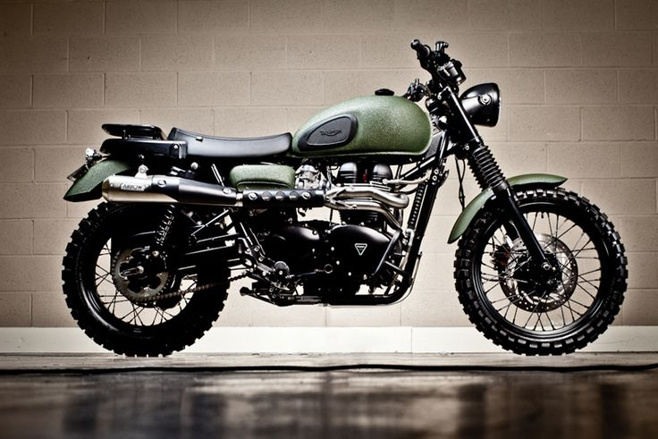 2010 Triumph Scrambler - Pipeburn - Purveyors of Classic Motorcycles, Cafe Racers & Custom motorbikes