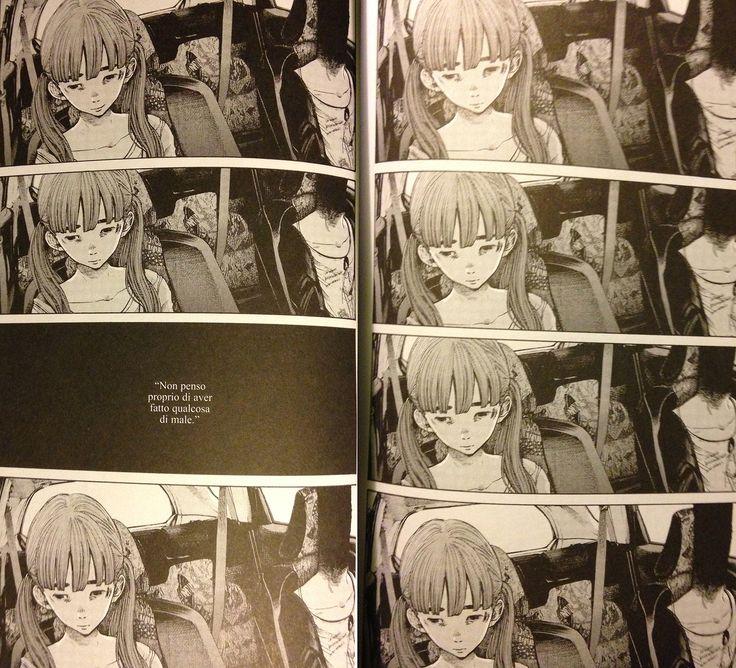 *READING RIGHT TO LEFT* Repeat the same panel many times slow down the time --------- ripetere la stessa vignetta rallenta il tempo --------- Goodnight Punpun (Inio Asano) #comics #fumetto #manga #punpun