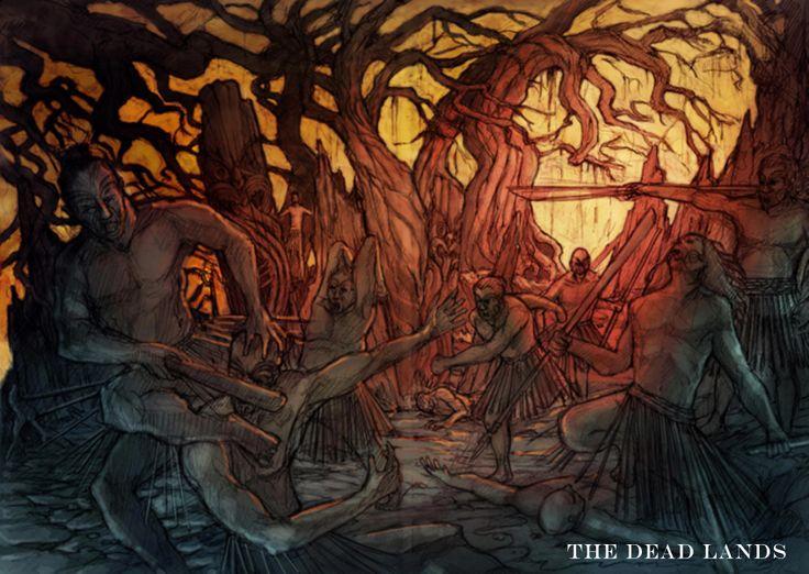 The Dead Lands Film - Concept Art #DeadlandsMovie #Hautoa