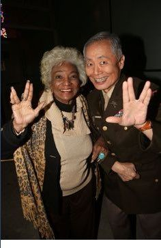 George Takei – @GeorgeTakei  Happy birthday to my radiant friend, Nichelle Nichols! May she live long and prosper.