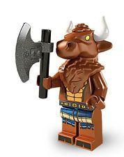 LEGO® Minifigur Sammelfigur Serie 6 Minotaurus NR 8