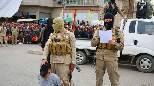 HANCUR JIWA perang akhir zaman: ISIS Penggal 12 Warga Sipil di Raqqa Karena Punya ...