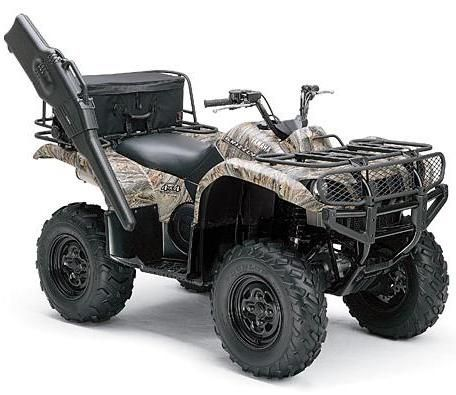 4+wheelers | camo-yamaha-grizzly-660-automatic-four-wheeler