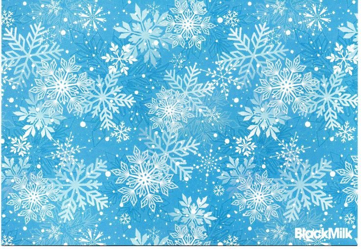 Wrapped- Snowflakes Front