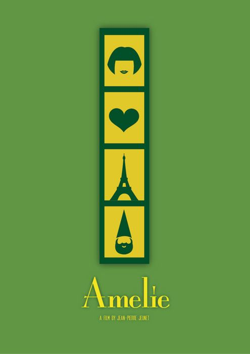 Amélie (2001) - starring Audrey Tautou as Amélie Poulain - French movie with subtitles - I love this charming film!