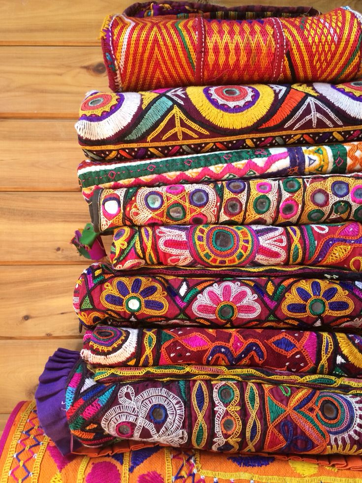Vintage Textiles to brighten up your bohemian home
