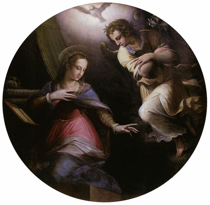 The Annunciation, 1570-1571 - Giorgio Vasari