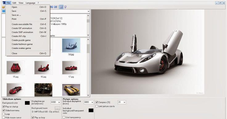 Ίσως δεν υπάρχει άλλη τόσο μικρή και τόσο απλή εφαρμογή που μέσα από ένα απλούστατο μενού να μπορεί να φτιάξει και να μετατρέψει τις φωτογραφίες σας σε αρχεία Exe GIFσε SWF ( Flash Slideshow ) και αρχεία AVI (βίντεο).  ΒΗΜΑΤΑ  Από το μενού της εφαρμογής επιλέξτε Edit και προσθέστε τον φάκελο με τις φωτογραφίες που θέλετε να μετατρέψετε.  Αφού κάνετε την επιλογή σας πατήστε View-Thumpnails για να μπορείτε να βλέπετε τις φωτογραφίες σας ως μικρογραφίες.  Επιλέξτε file και ανάλογα με το τι…