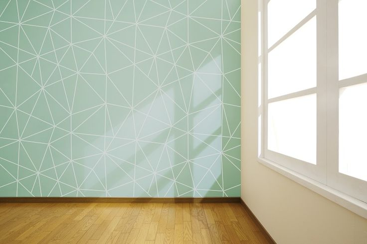 Behang Cosmos Mint _ rendering small